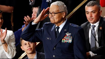 100-year-old Tuskegee Airman, Cleveland native, honored at State of the Union