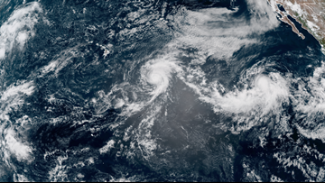 Erick becomes a major hurricane; Flossie strengthens into a hurricane