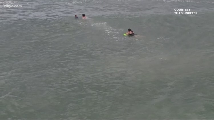 Ohio teen saves mother and son while vacationing in North Carolina: Watch the amazing water rescue
