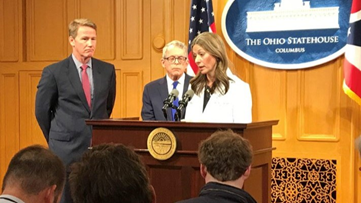 Gov. Mike DeWine recommends Ohio colleges go to online learning, advises no spectators for indoor sporting events due to coronavirus