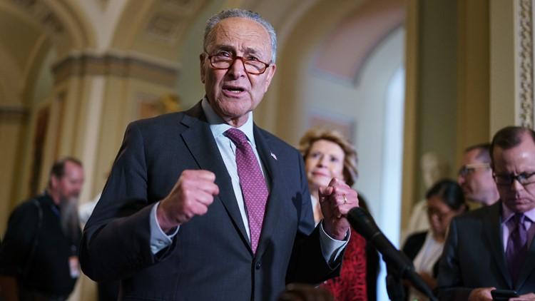 Schumer: Senators will 'get the job done' on infrastructure