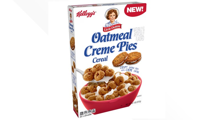 Kellogg's, Little Debbie release Oatmeal Creme Pies Cereal