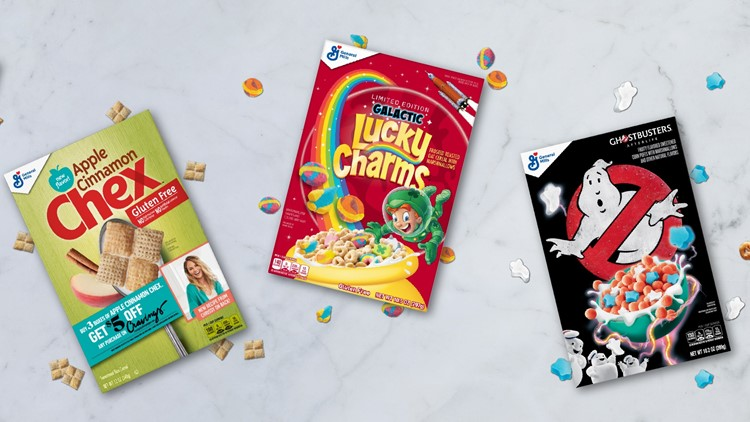 General Mills launching 5 new cereals in April