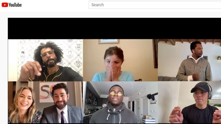 Florida girl surprised by 'Hamilton' cast on John Krasinski's new YouTube show