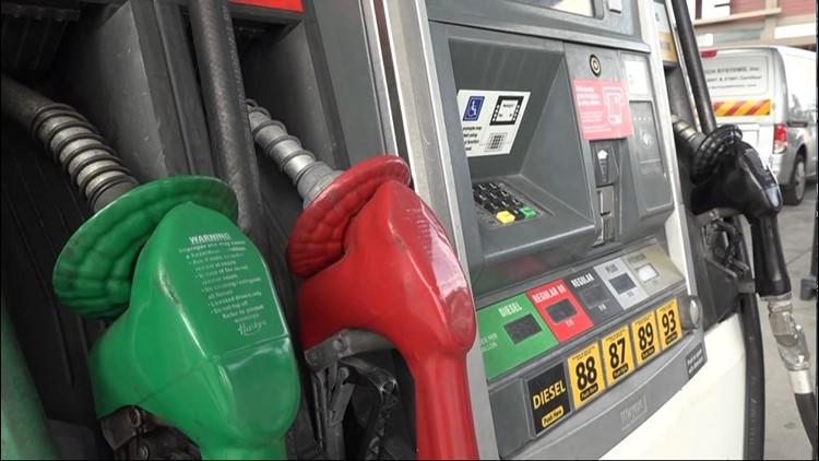 Gas prices in Toledo are up more than 12 cents per gallon from last week