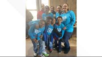 Findlay family of 9 welcomed into what will become their spacious new home