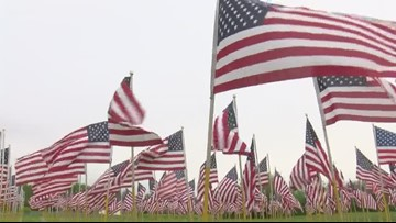Ohio Flags of Honor Memorial arrives in Rossford for weekend