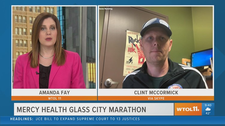 The Mercy Health Glass City Marathon is next weekend!