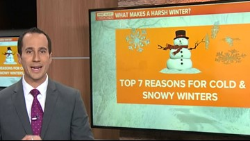 Winter Weather Special | What makes a harsh winter?