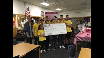 Washington Local students step up to honor principal's battle with breast cancer