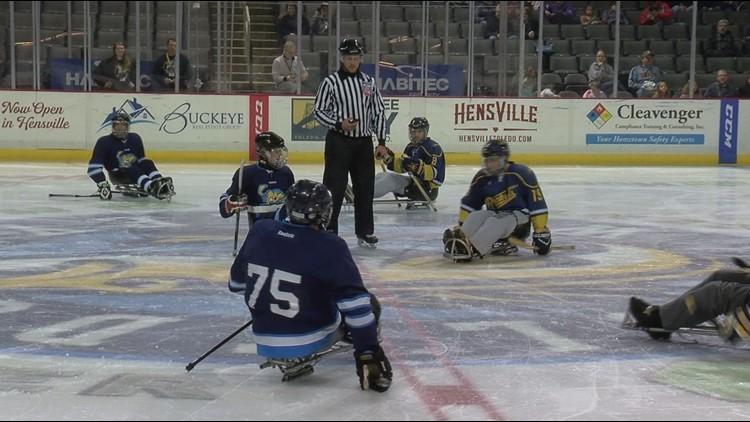 Toledo Sled Hockey team