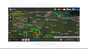 Tornado warning issued for for Van Wert, Allen counties; no severe threat for Toledo area