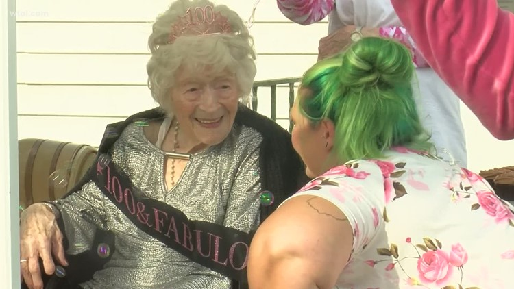 Reason to Smile: Sandusky woman turns 100 years old