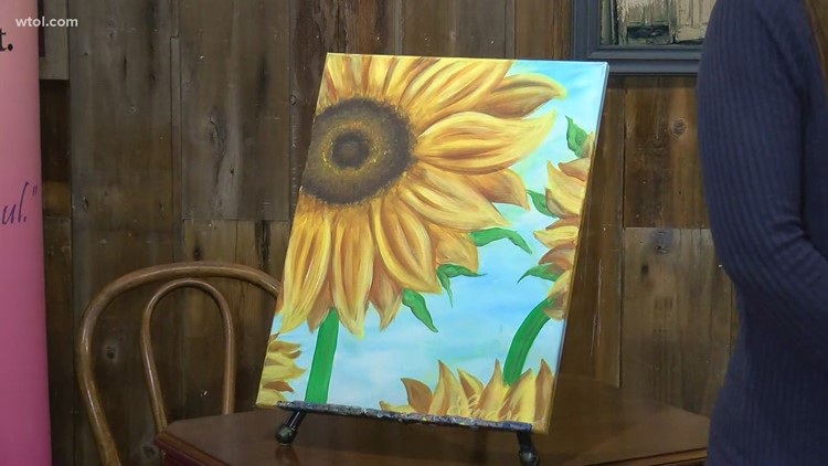 Painting with a Purpose lets you create art to benefit cancer patients