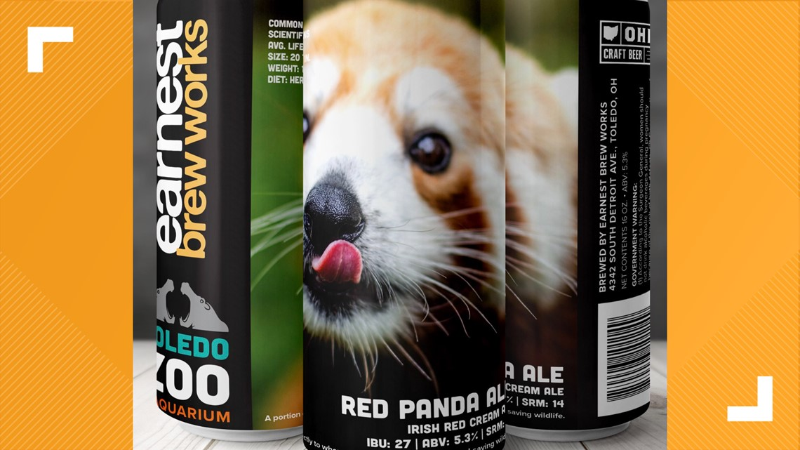 Earnest Brew Works partners with Toledo Zoo for Red Panda Ale release