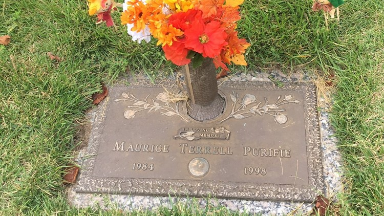 Maurice Purifie grave
