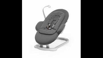 Infant bouncers recalled for fall hazard