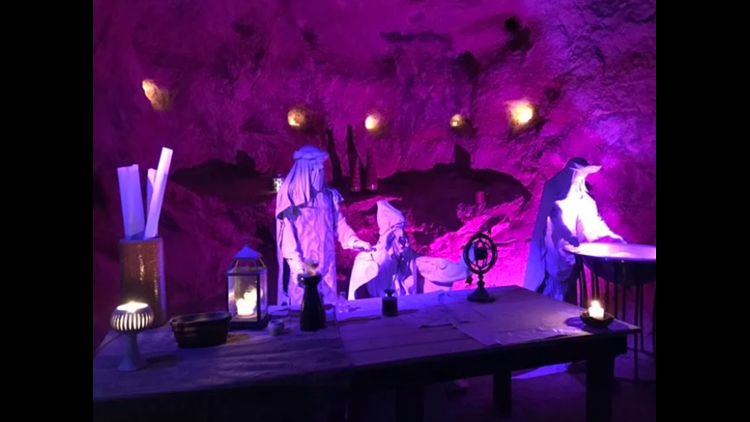 The Christmas Cave is unlike any Christmas attraction around, and it's right here in Ohio