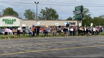 Protesters rally over the death of George Floyd for the third straight day