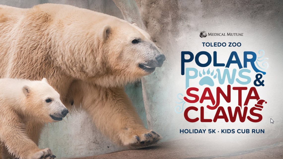 REGISTER | Go dashing through the Zoo during the Polar Paws and Santa Claws 5K