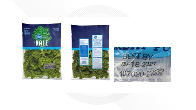 Kroger issues recall on bagged kale due to possible listeria contamination