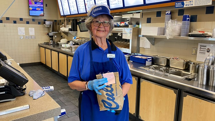 81-year-old Culver's regular ditches retirement to don an apron and help her favorite restaurant stay afloat