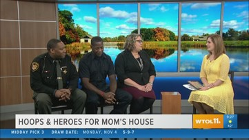 Hoops & Heroes for Mom's House