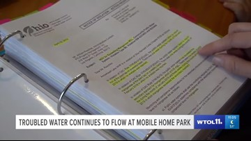 Call 11 for Action: Mobile home neighbors search for answers to water troubles in court