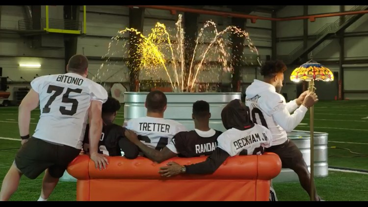 The Cleveland Browns' take on 'Friends' theme song is everything we needed