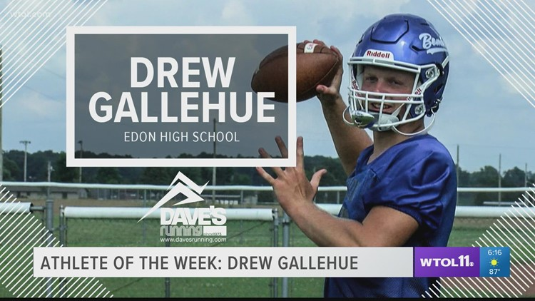 Athlete of the Week: Edon High School's Drew Gallehue