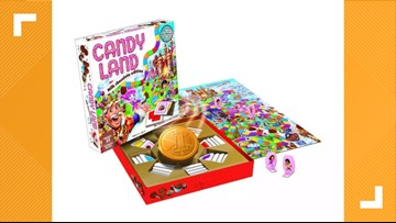 Candy Land game with real chocolate is what dreams are made of