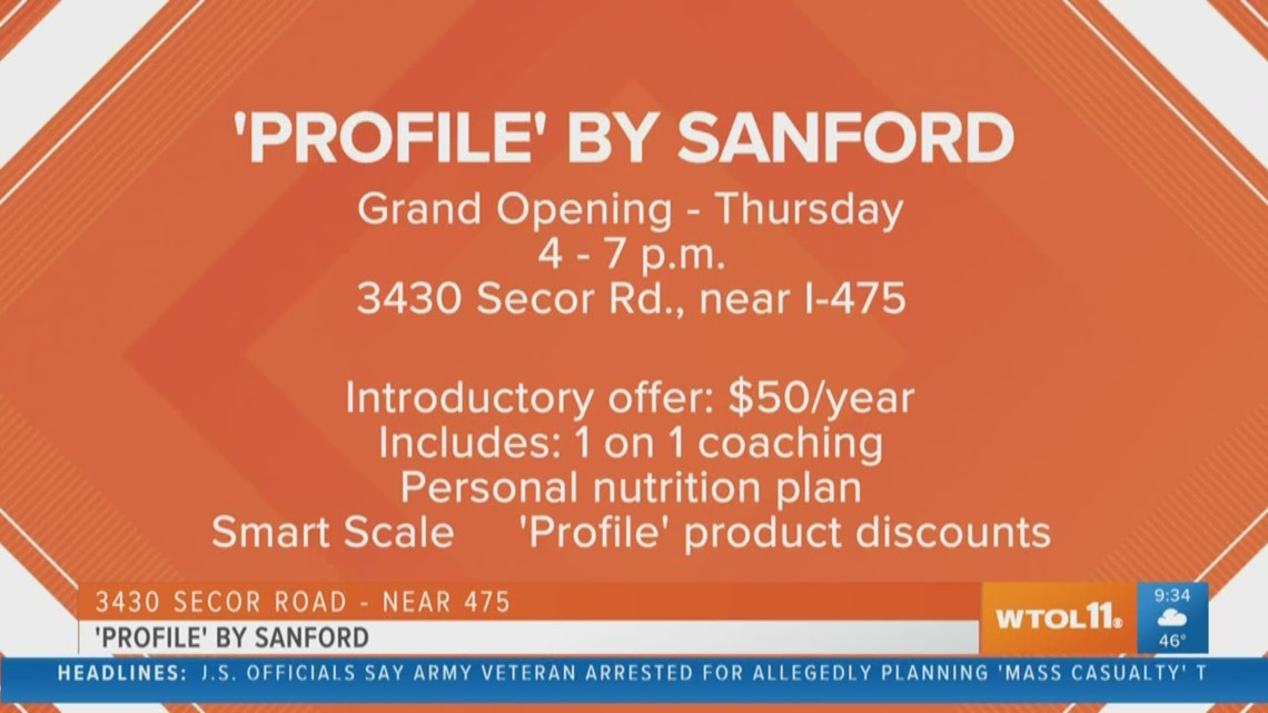 'Profile' by Sanford grand opening