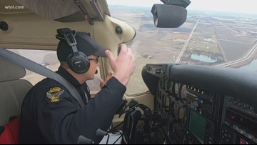 Ohio Highway State Patrol catching distracted drivers from the skies