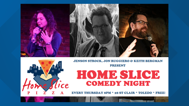 Home Slice Comedy Night