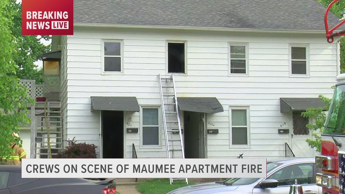 One person taken to hospital after apartment fire in Maumee