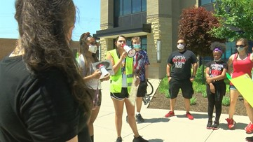 University of Toledo students form protest in wake of George Floyd's death