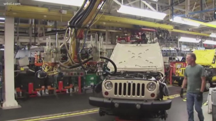 Jeep's Toledo Assembly Complex hiring part-time workers