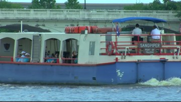 Sandpiper cruise teaches folks how to keep water clean and clear