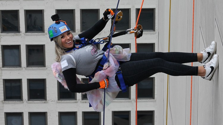 Take helping to new heights - Go Over the Edge to help The Victory Center