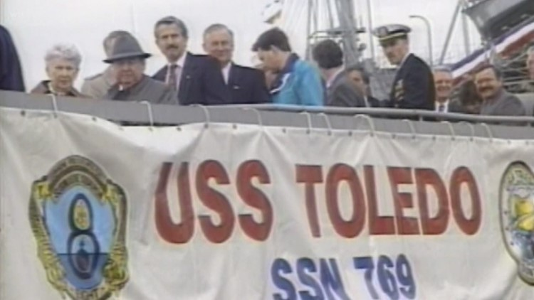 Video Vault: A look back at Toledo's pride of the Navy
