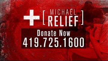 CALL NOW to help Hurricane Michael recovery efforts