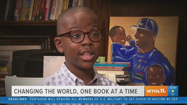 Reason to Smile: Boy starts book drive for kids