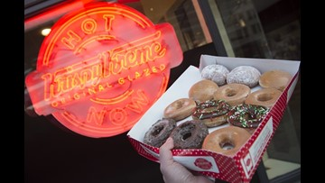 HOT NOW: Krispy Kreme doughnuts heading back to Toledo