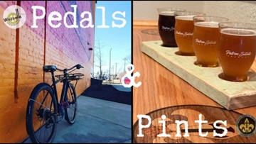 Patron Saints Brewery, Wersell's Bike Shop team up for 'Pedals and Pints' bike rides in west Toledo