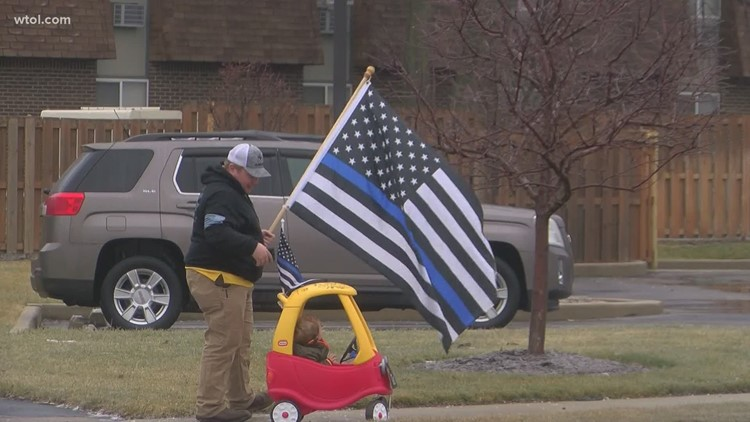 Team coverage: A recap of the day's events as Ofc. Stalker is laid to rest