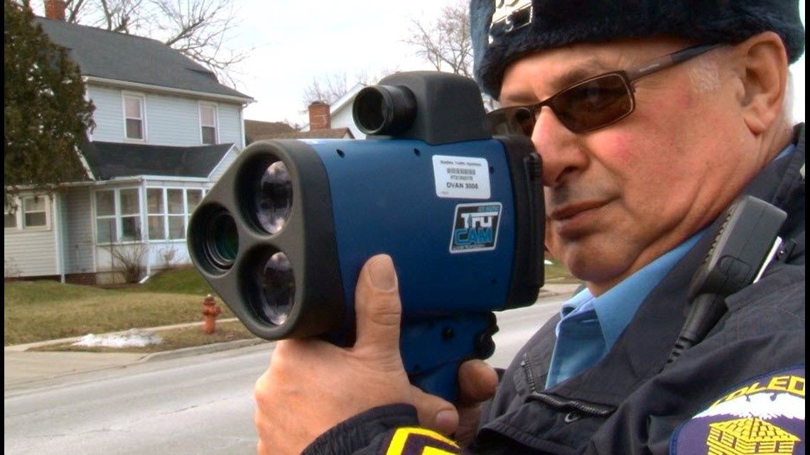 Toledo police cracking down on speeders