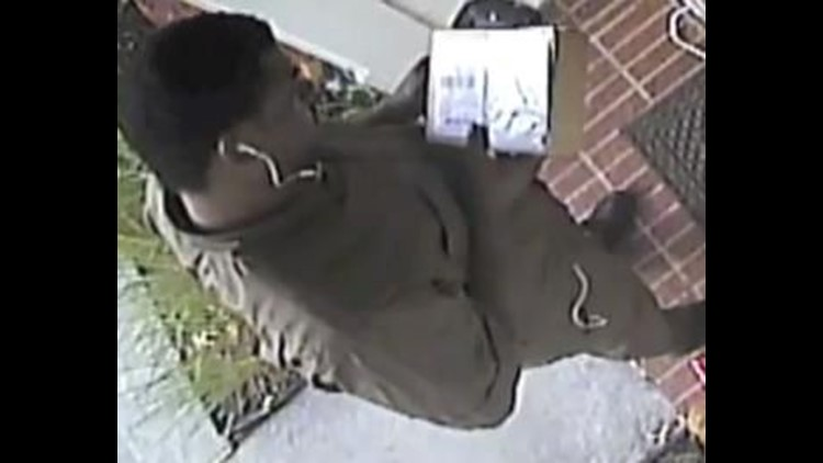 CAUGHT ON TAPE: UPS guy steals FedEx Christmas package