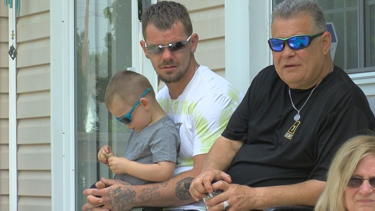 'I'm not a hero. I'm a dad' | Father recounts saving young son, escaping south Toledo house fire