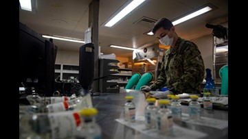 Local man works at US military hospital ship in New York City