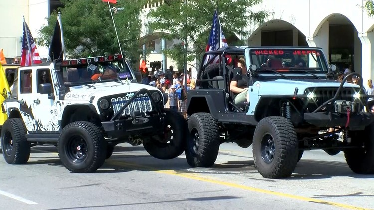MAPS & EVENT SCHEDULE | Jeepers and fans rejoice: Jeep Week rolls into Toledo